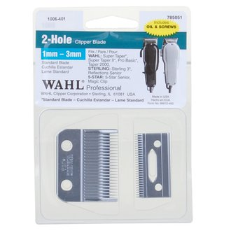2 Hole Clipper Blade 1mm-3mm