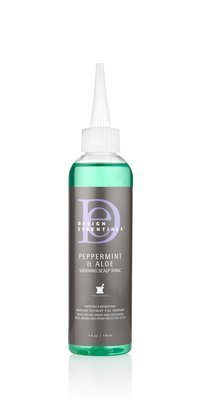 Design Essentials Pepermint & Aloe Soothing Scalp Tonic (118ml)